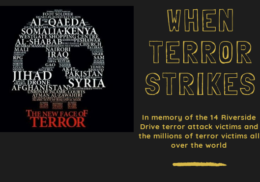 JANUARY 2019 III- WHEN TERROR STRIKES