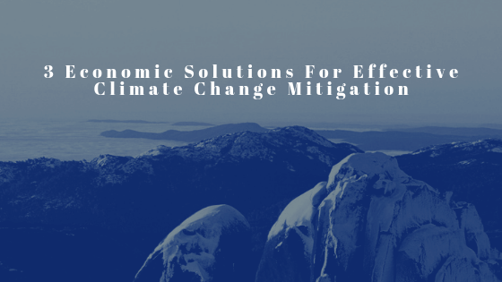 Effective Response to Climate Change: 3 Economic Changes That Countries Need to Make